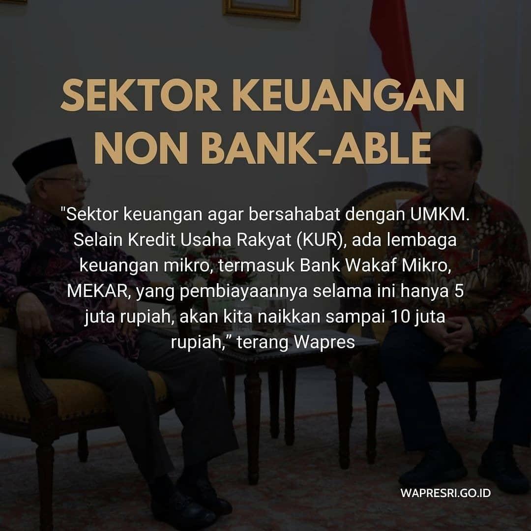 2. Sektor Keuangan Non Bank -Able  #kyaimarufamin  #umkmindonesia  #kabinetindonesiamaju  #koperasisimpanpinjam  @kyai_marufaminpic.twitter.com/dsuZcMxRBf