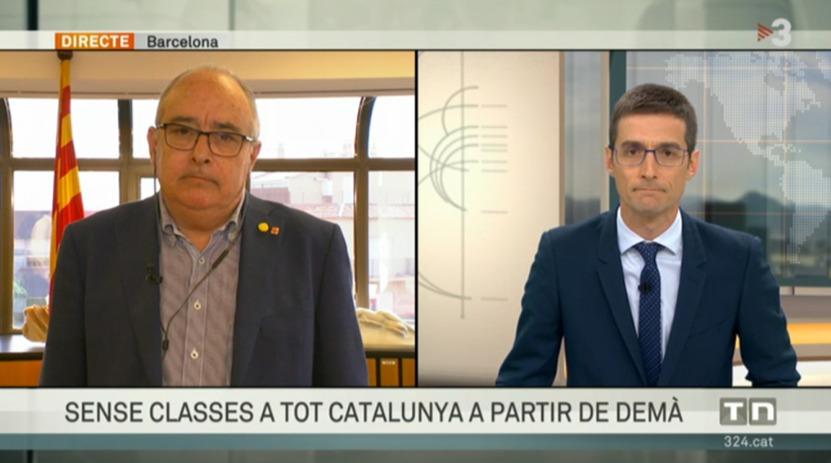 """@JosepBargallo @salutcat @govern 🔴 #Conseller @JosepBargallo: """"Pel que fa a la #preinscripció, obrirem els centres a unes hores concretes, amb el personal mínim, que pugui rebre grups de famílies molt reduïts de manera molt progressiva. Estem treballant també amb propostes de preinscripcions telemàtiques"""" https://t.co/0UUtE5vXRi"""