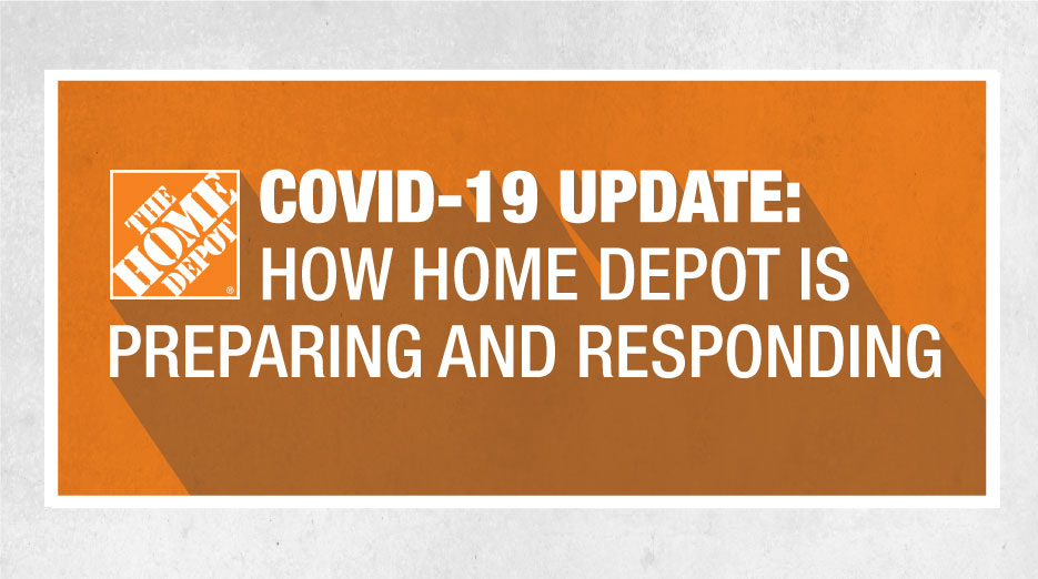The Home Depot On Twitter As The Situation Around The 2019 Novel Coronavirus Covid 19 Continues To Develop Our Paramount Concern Has Been For The Health And Safety Of Our Customers And Associates