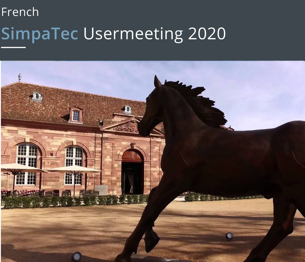 Due to the corona virus: __ 'French SimpaTec Usermeeting' has been postponed to June! https://buff.ly/3c7dSmy  #usermeeting #france #postponed #SimpaTec #Moldex3D #exhibition #presentations #date #healthy #simulation #technology #plastics #engeneering @Moldex3DEurope #3Dpic.twitter.com/wSHGOvodQv