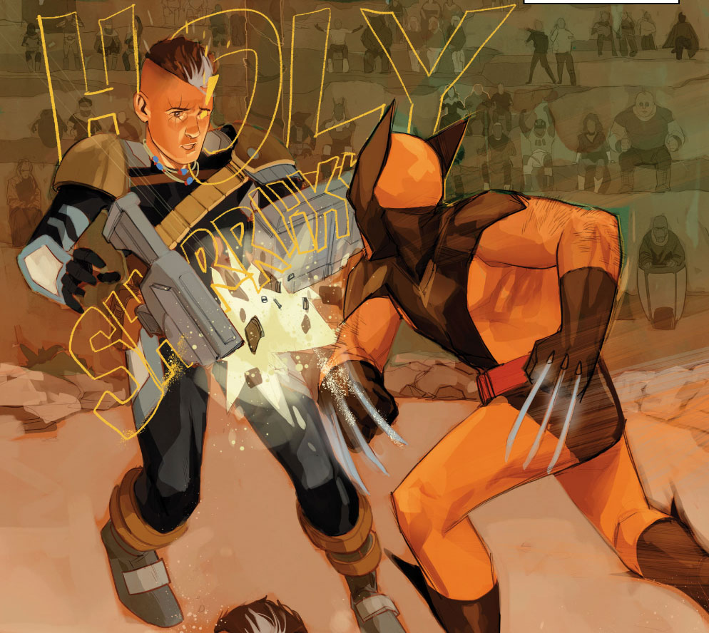 HOLY SHRRIIKK Cable #1 A: @philnoto W: @GerryDuggan