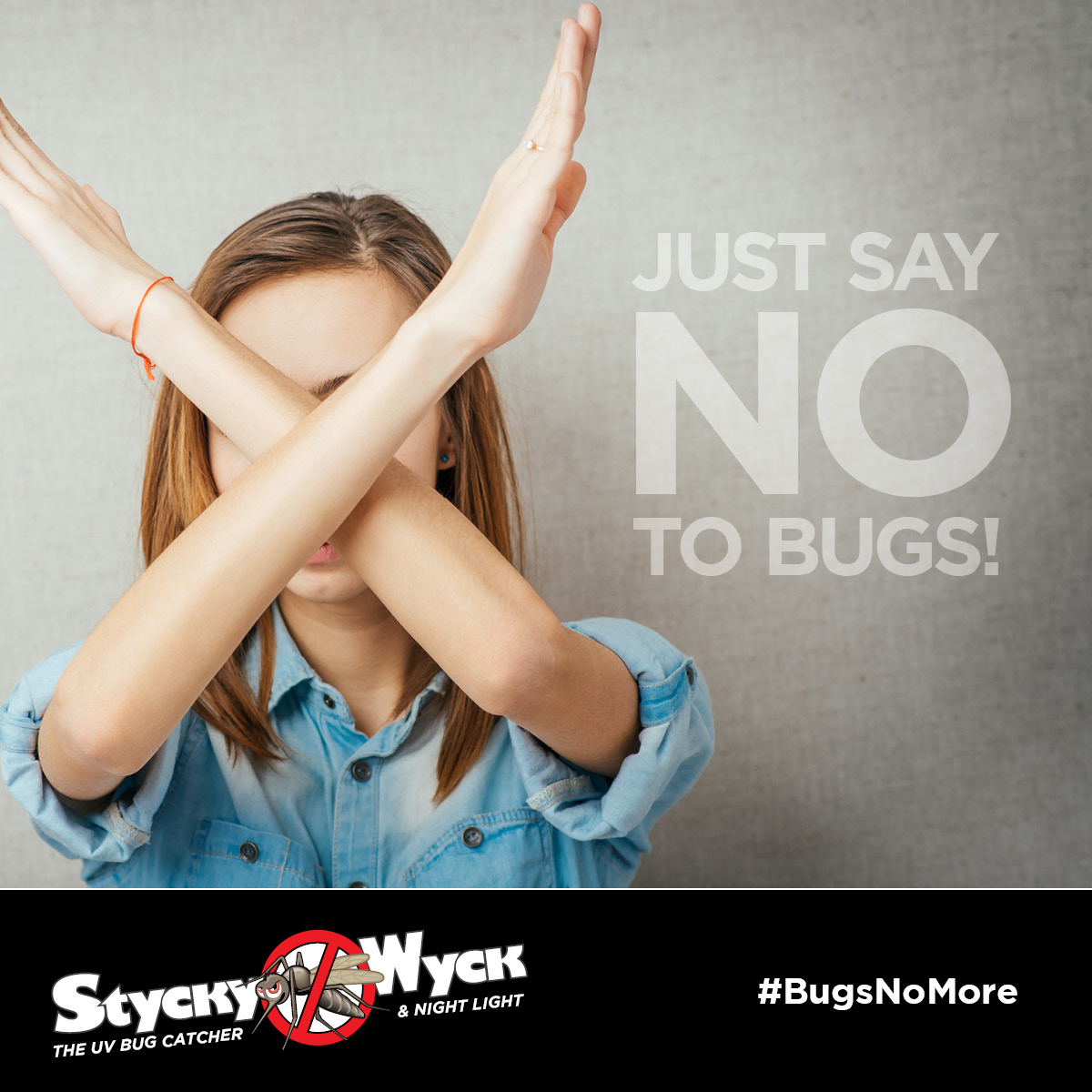 Just say no, to bugs! Ha! The beauty is that we don't have to say anything! Stycky Wyck has your back! #BugsNoMore!  #Kitchen #Bedroom #Bathroom #Basement #Office #HomeDecor #Home #HomeGoods #HomeRenovation #homes #HomeIdeas #homeimprovementpic.twitter.com/u2YHkSaK3S