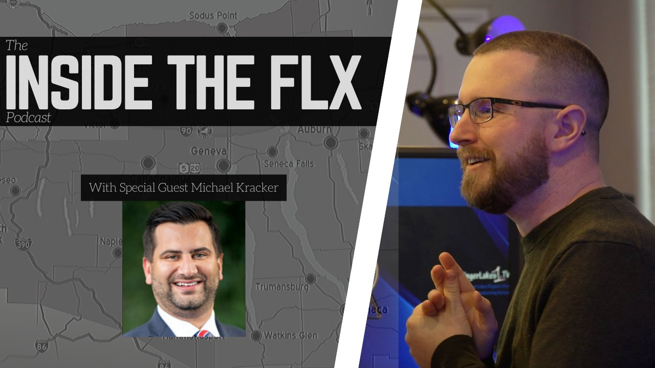 INSIDE THE FLX: Michael Kracker of Unshackle Upstate in-studio at 10:30 AM (podcast)