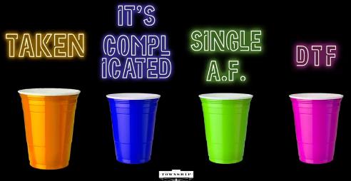single taken dtf cups)