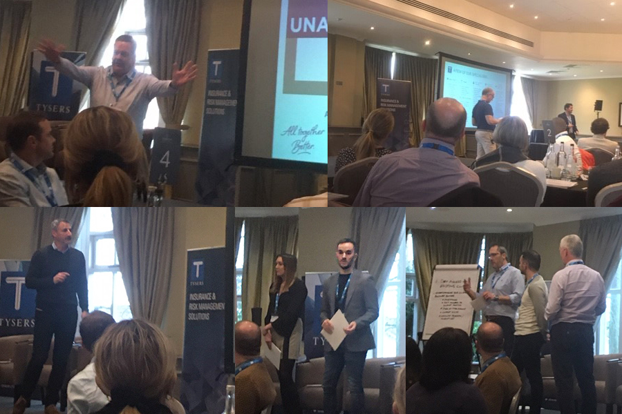 It was a tremendous Tuesday for the Tysers' team. Colleagues representing insurance specialisms from all our UK offices met together to create and share new ideas. They certainly demonstrated we are #alltogetherbetter. https://t.co/RPAOuIjqNj