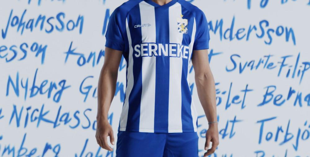Crafts nya matchtröja för IFK-Göteborg är här. https://t.co/G2L3R2cXnN https://t.co/Fsz094ozUj