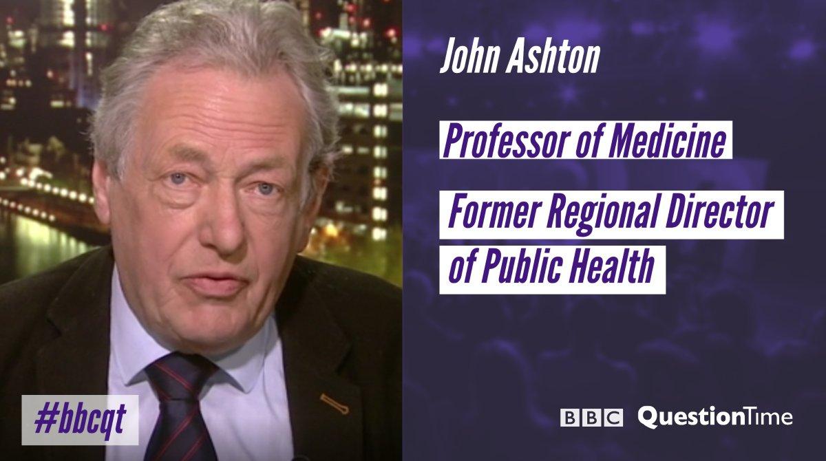 "BBC Question Time on Twitter: ""Professor John Ashton joins our panel  #bbcqt… """