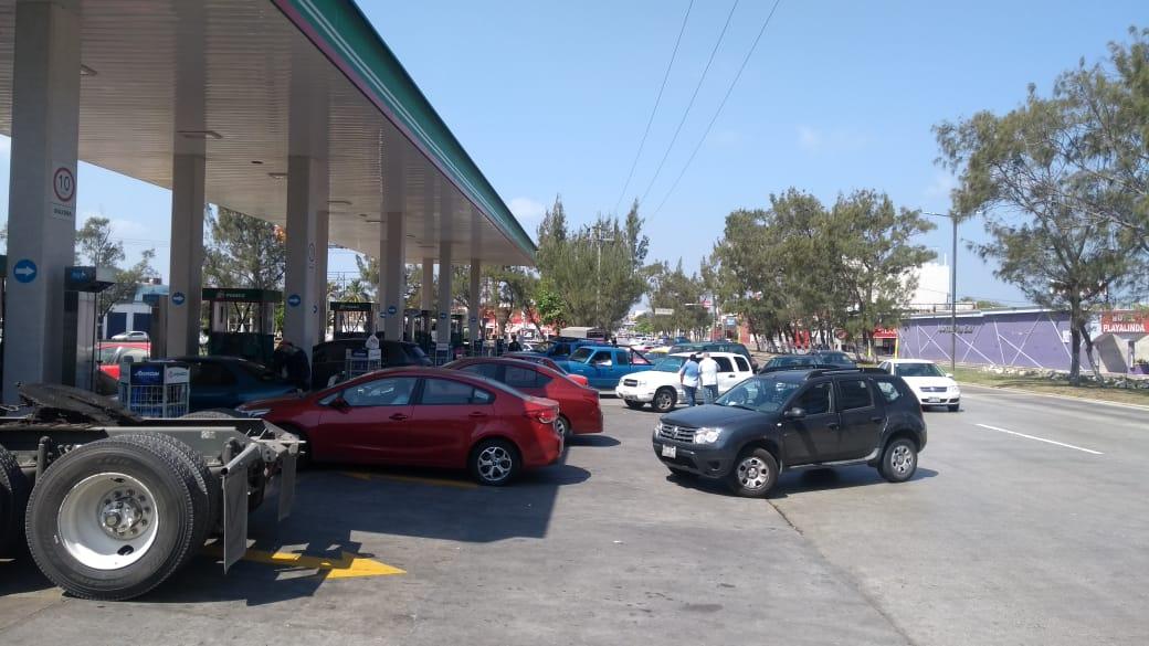 Gasolineras en Veracruz no le ganan por litros vendidos