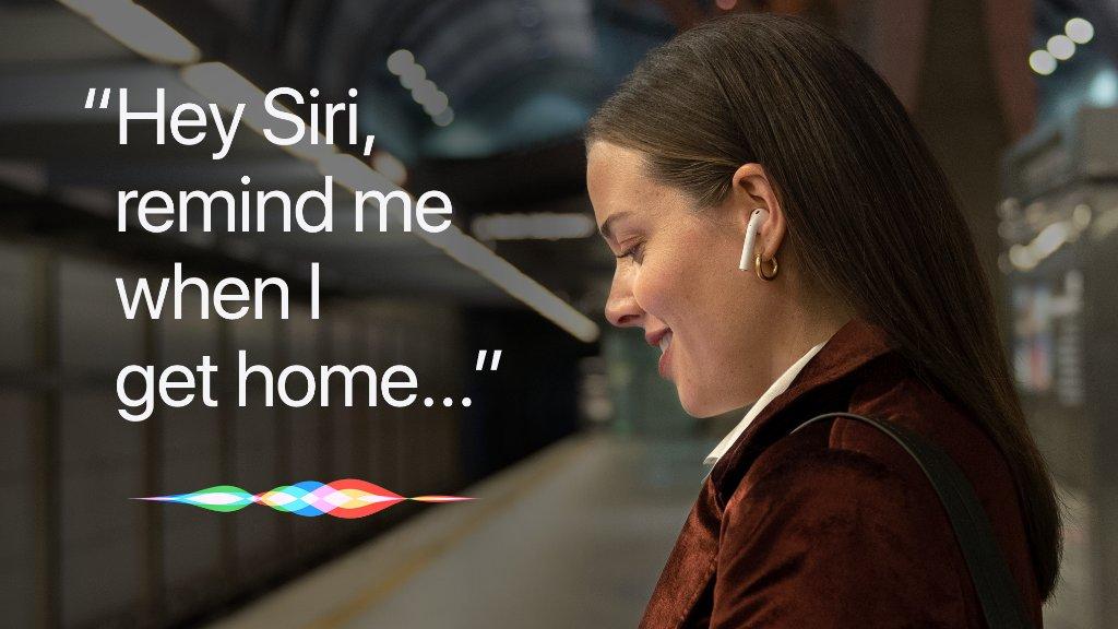 """""""Hey Siri, remind me when I get home..."""""""