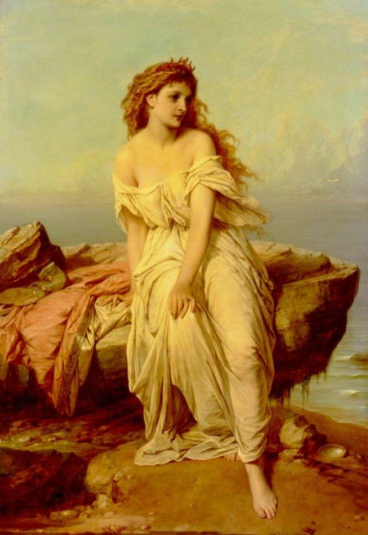 aphrodite goddess painting - 688×1000