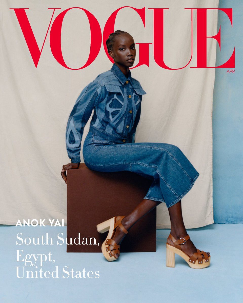 My first American Vogue Cover Representing my family, my heart is warm