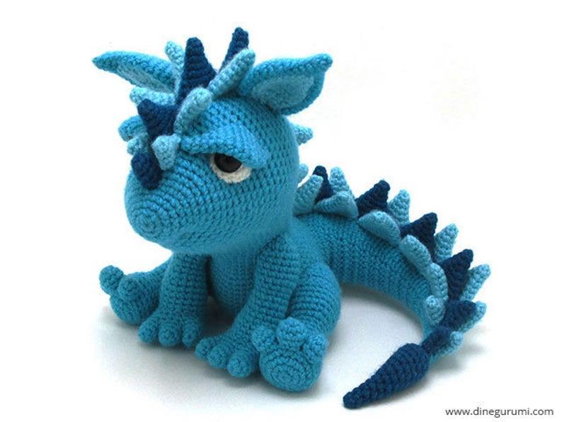 Amigurumi Dragon Free Pattern   596x794