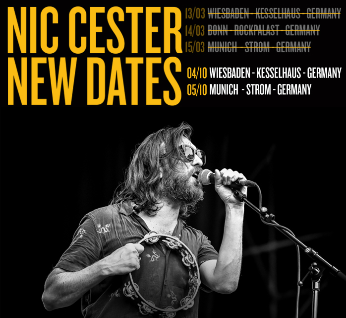 Happily and optimistically we can announce new dates for the recently canceled German shows. Can't wait to play! Tickets are stil valid 💪🏻 https://t.co/tuEKJfcwTm