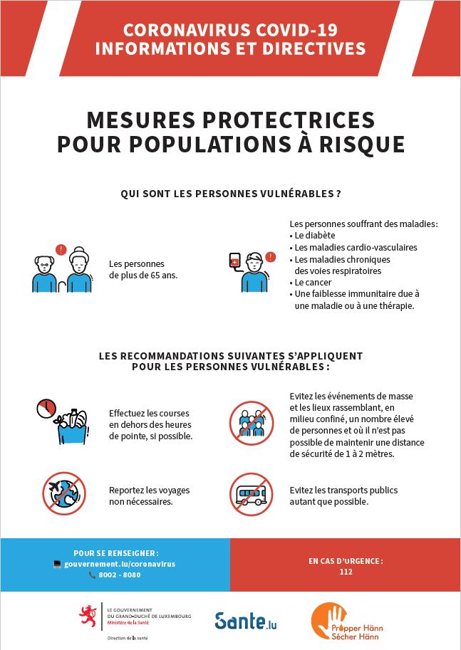 Ville De Luxembourg Di Twitter Recommandations Pour Personnes Vulnerables Et Non Vulnerables Https T Co Htlv17bkin