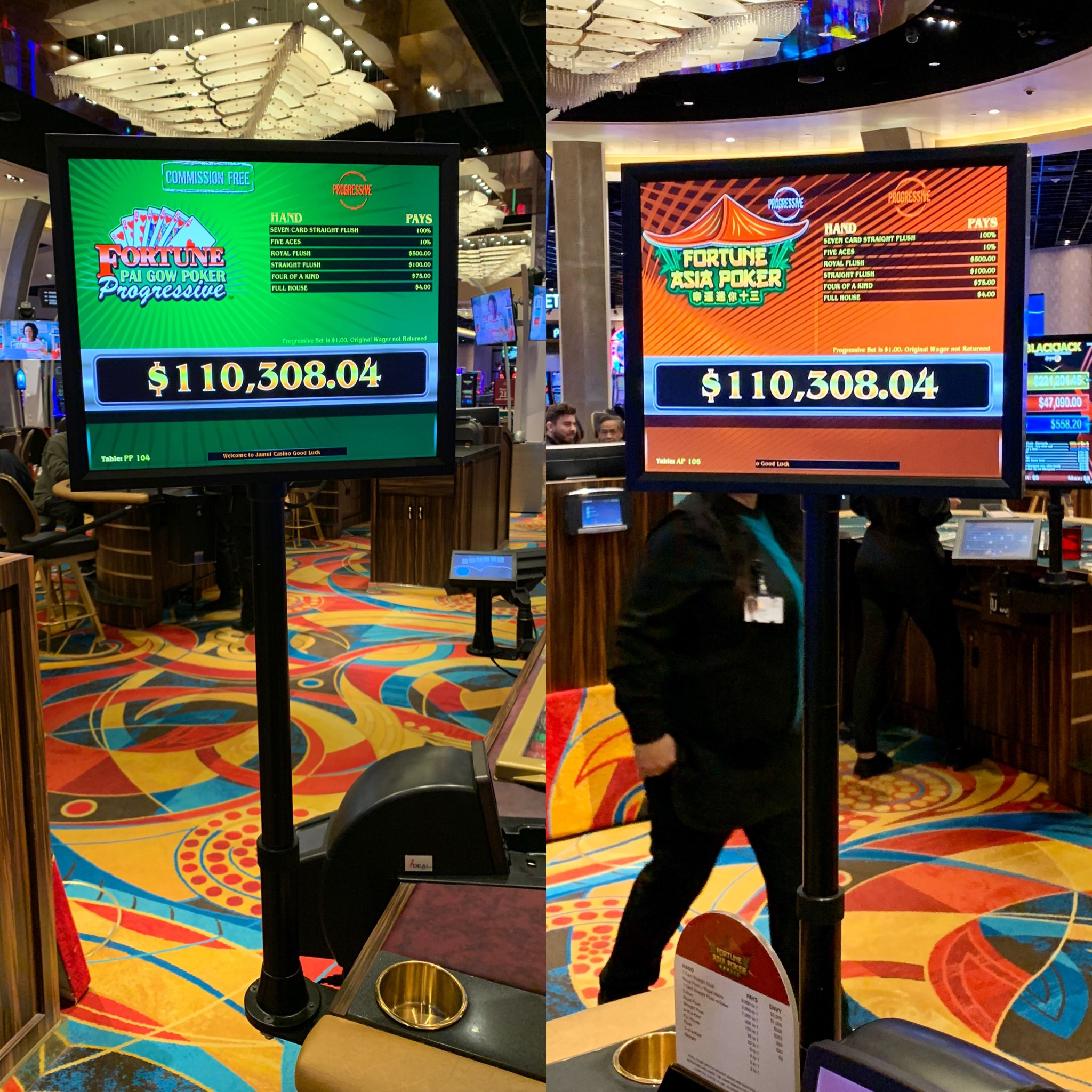 Jamul Casino Sd On Twitter Check Out The Progressives On Fortune Asia Poker And Pai Gow Poker Who S Feeling Lucky Jamulcasinosd Jamulcasino Sandiego Casino Https T Co Ug1ivd0nf6