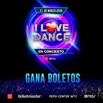 Image for the Tweet beginning: ✨ ¡GANA BOLETOS PARA @ilovedancetour