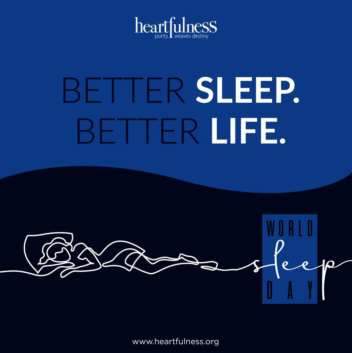 This World Sleep Day, let us learn more about the coordination of sleep and our wakeful patterns. Good sleep ensures good health. Let us take steps.  https://www.heartfulnessmagazine.com/sleep-good-mental-health/…    #heartfulness #worldsleepday #calmness #mindfulness #sleep #sleepmeditationpic.twitter.com/h4QYX6zpPw