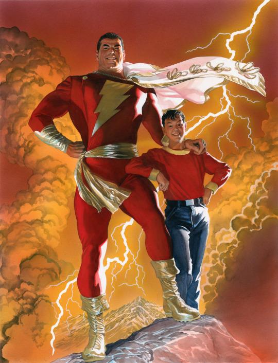 Captain Marvel and Billy Batson  Artist by: Alex Ross #comicartpic.twitter.com/Llz3O0ene1