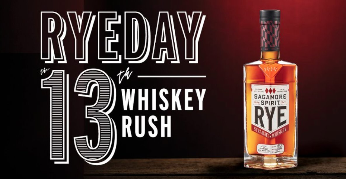 #RyeDaythe13th is tomorrow! Join us in celebrating Maryland-Style Rye Whiskey wherever you may be! 🥃https://t.co/6gTSt5LiU3 https://t.co/6DB46OncG5
