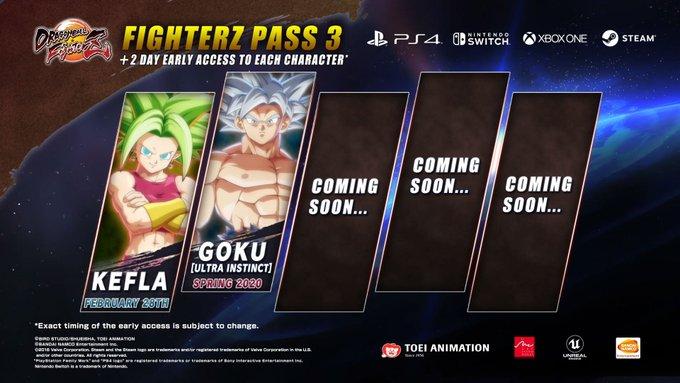 Bandai Namco ra mắt Season 3 của Dragonball Fighter Z và giới thiệu Ultra Instinct Goku