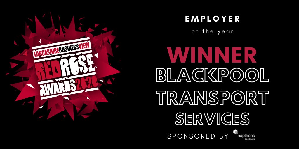Congratulations to @BPL_Transport - well deserved! An awesome Cornerstone Employer who commits time to inspiring #Blackpool's young people about careers and nurtures its younger employees 👍🎉 @CareerEnt @lancslep @inspiraforlife @InspiraLisaS #InspiringLancashire
