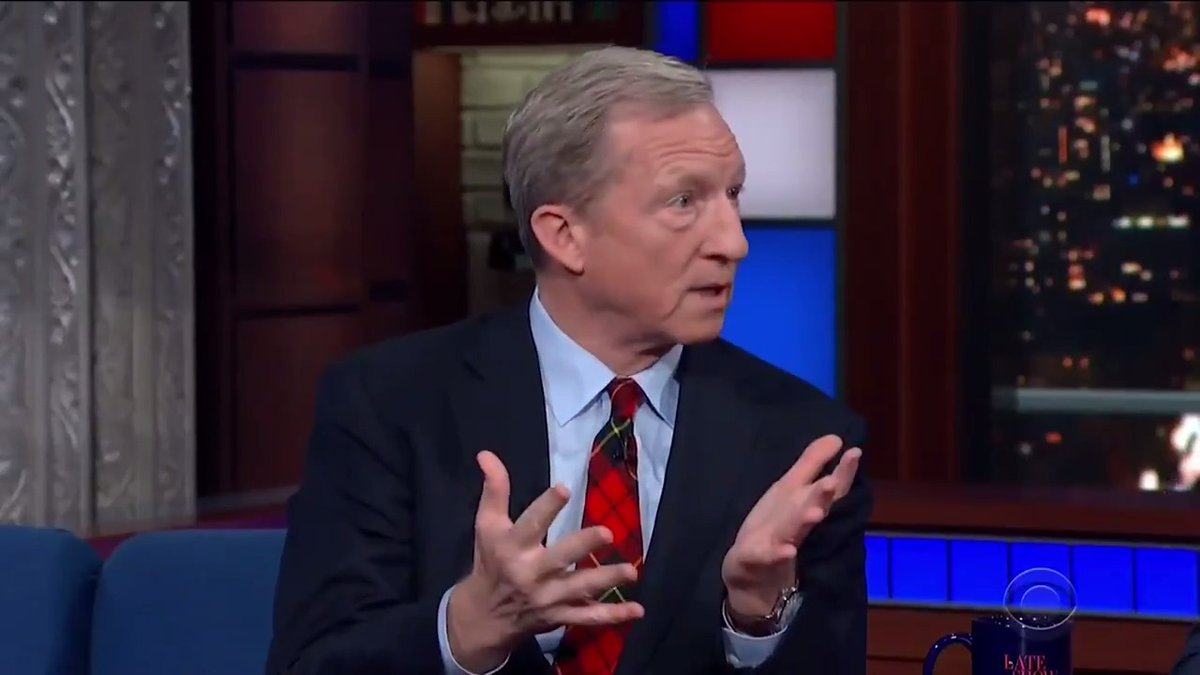 TONIGHT: @TomSteyer makes the argument for a livable minimum wage. #LSSC