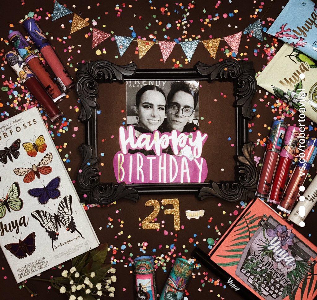 FELIZ CUMPLEAÑOS @yuyacst feliz VIDA, que afortunado al pasar otro cumpleaños mas contigo, ya 6 años celebrando juntos ✨ nunca me cansaré de decirte lo mucho que te quiero y admiro, gracias por ser luz e inspiración en nuestras vidas, celebramos a la distancia 🎉🎈#Felices27Yuya