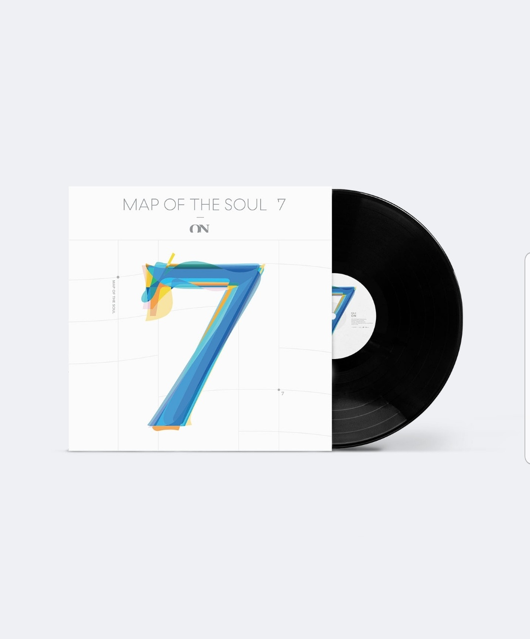 kpop group LP album