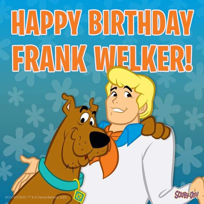 Happy birthday to the inimitable voice of Fred. Frank Welker, here\s to you!