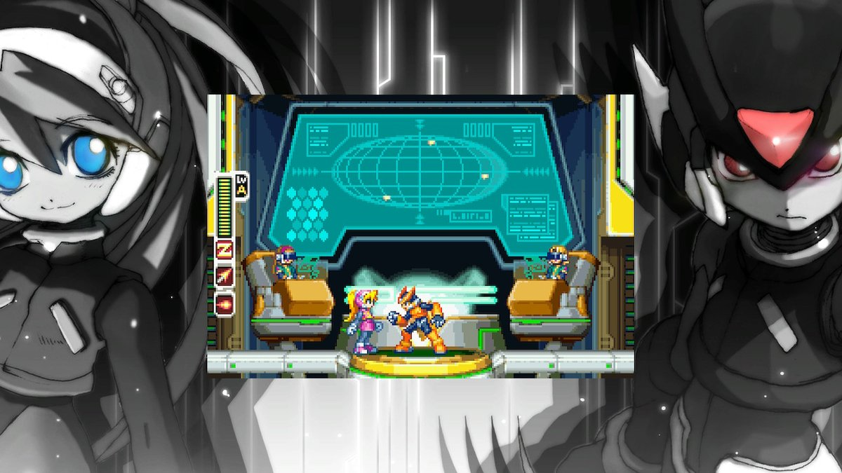 Shadowrock X On Twitter Secret Wallpaper In Megaman Zero Zx