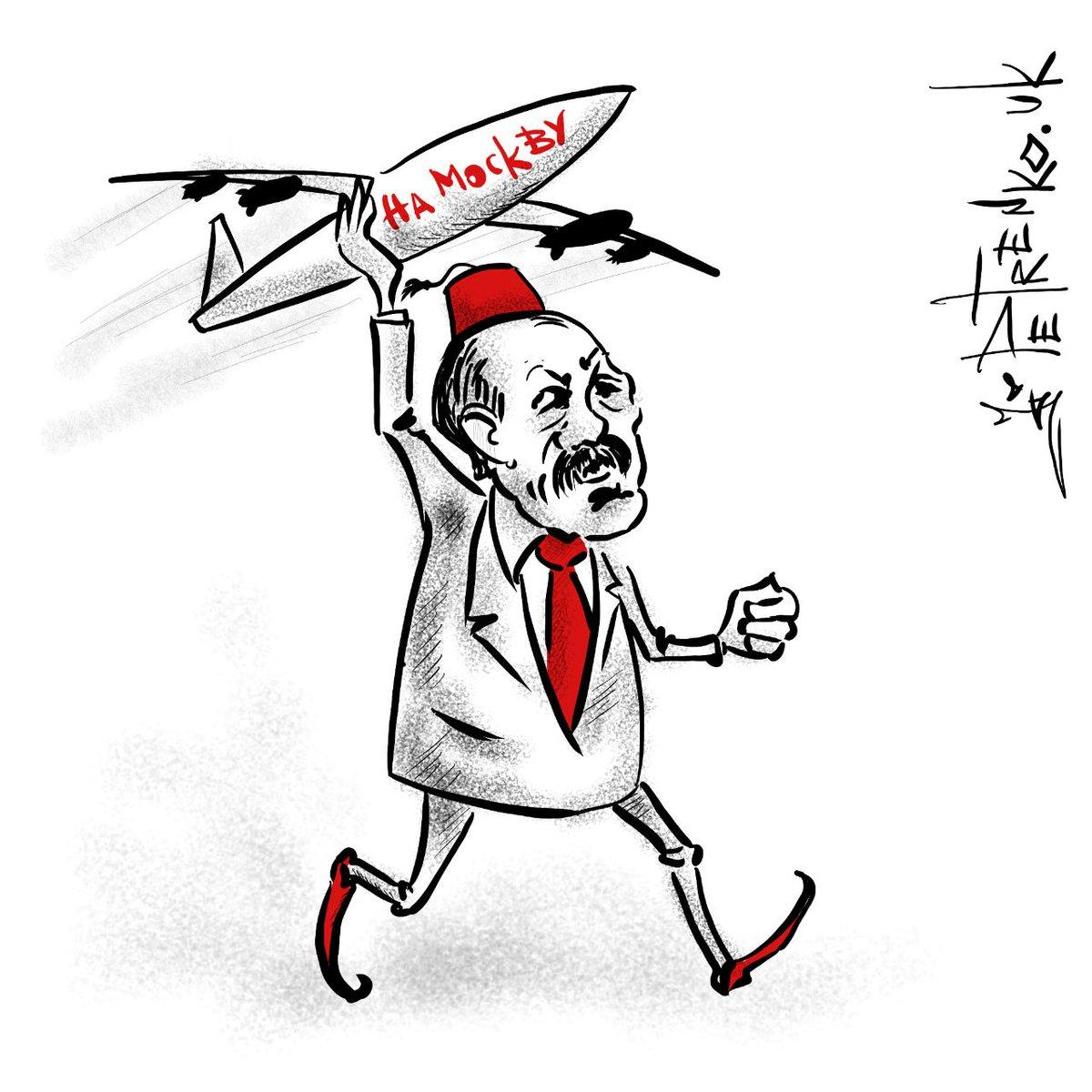 Пілот турецького винищувача вилетів на бомбардування із плакатом про сексуальне насильство над росіянами - Цензор.НЕТ 572