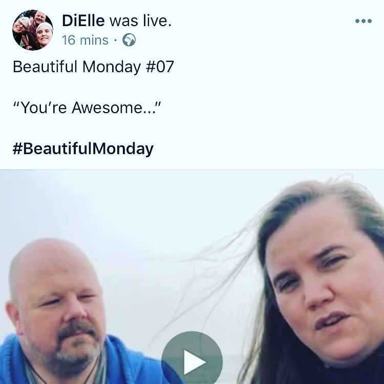 """You're awesome... "" #BeautifulMonday #07 with @ChrisWoodBass   https://www.facebook.com/diellemusicuk/videos/383034832539998?sfns=mo …pic.twitter.com/jzlJUrnNOr"