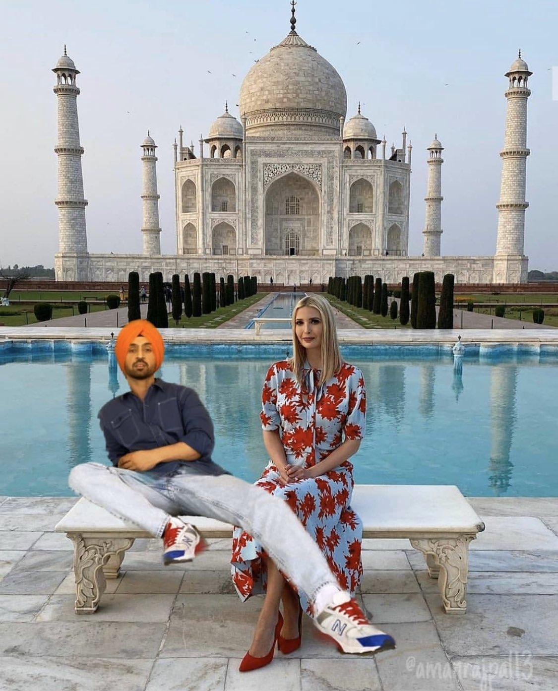 Diljit Dosanjh On Twitter Me Ivanka Piche Hee Pey Gaee Kehndi Taj Mahal Jana Taj Mahal Jana Mai Fer Ley Geya Hor Ki Karda