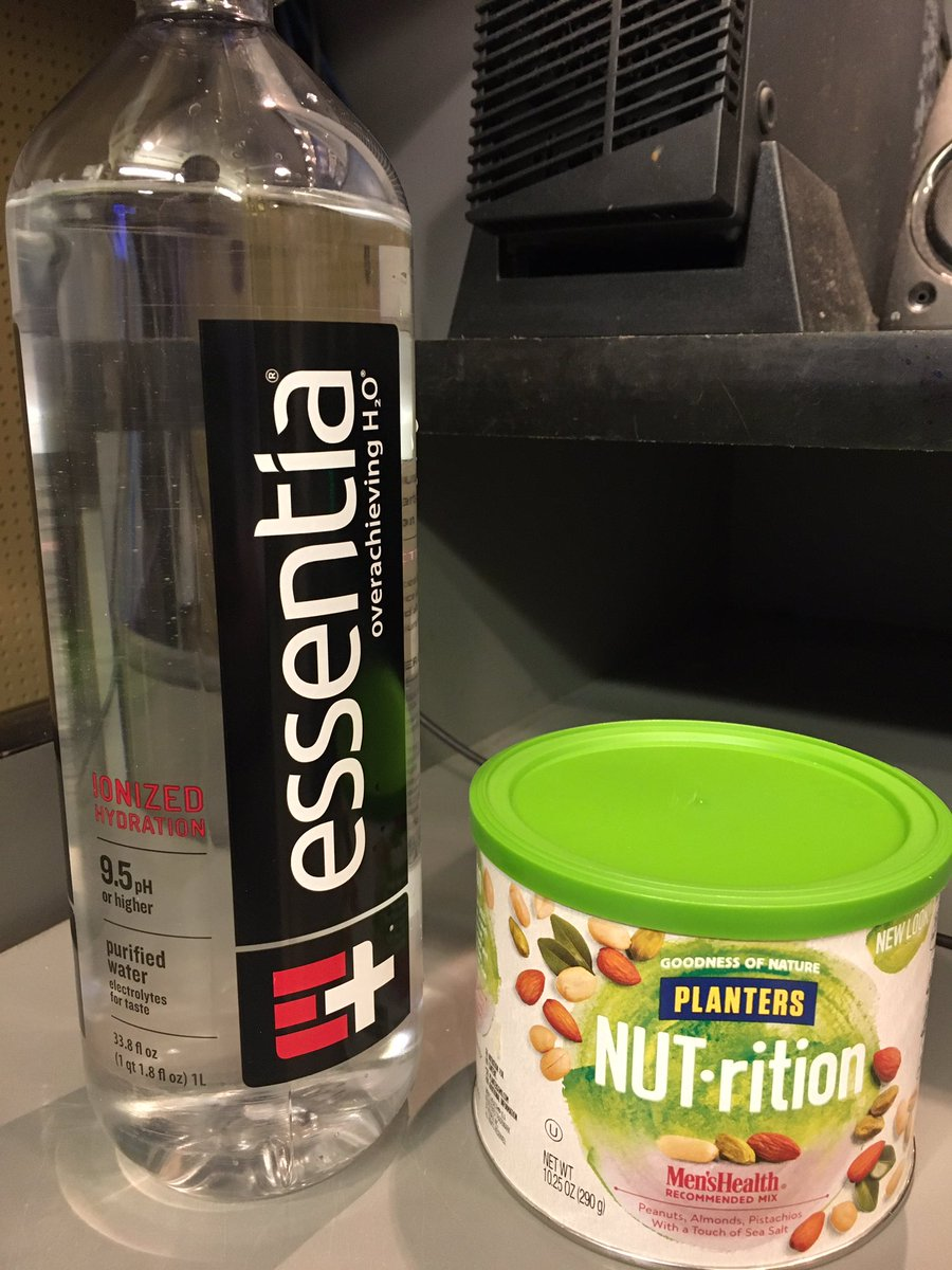 Trying to ween myself off of caffeine #alternativeenergy @MrPeanut @essentiawater https://t.co/Q25BoxitSu