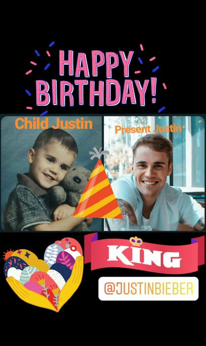 Happy birthday Justin Bieber Ur voice beautiful Ur amazing totally
