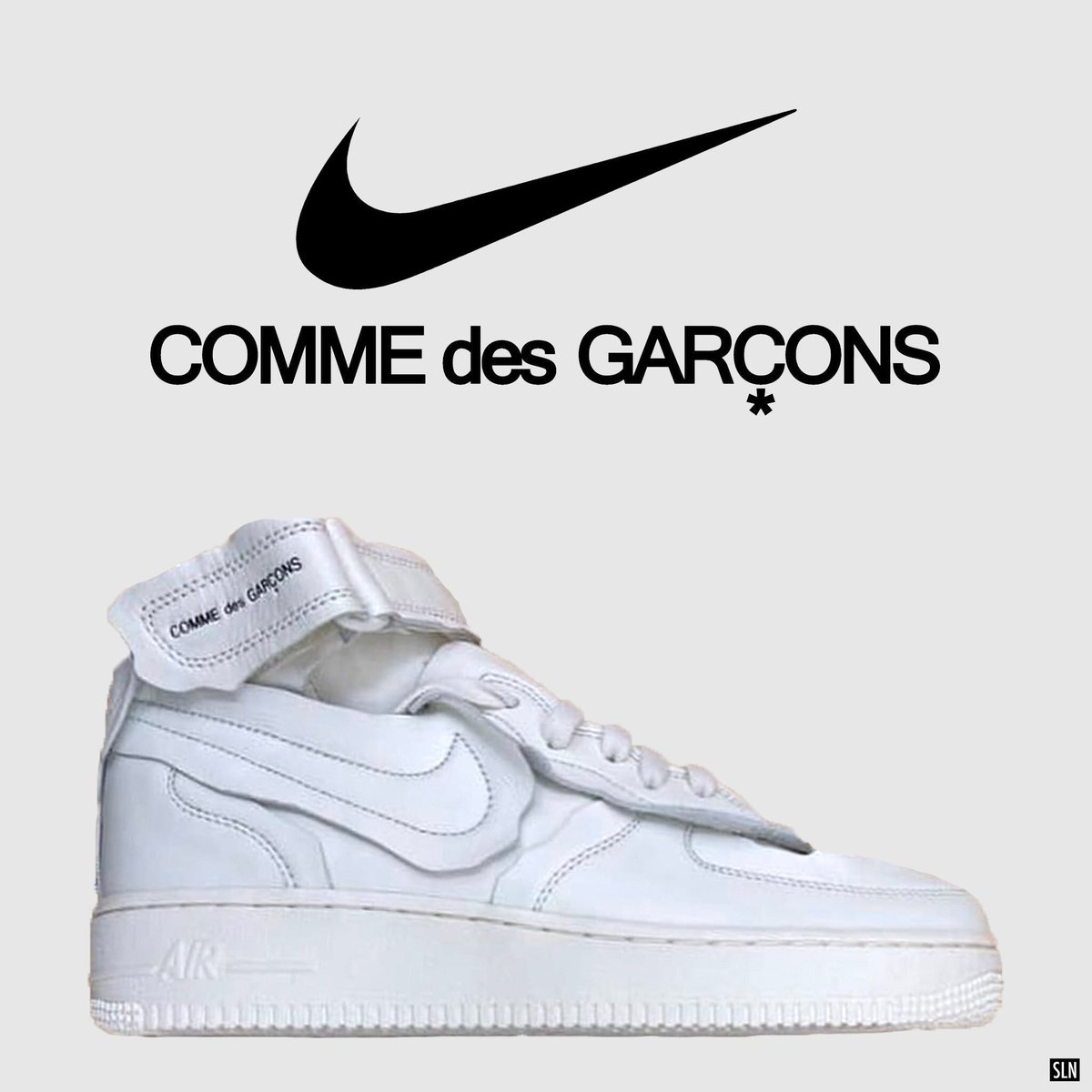 COMME des GARCONS × NIKE AIR FORCE