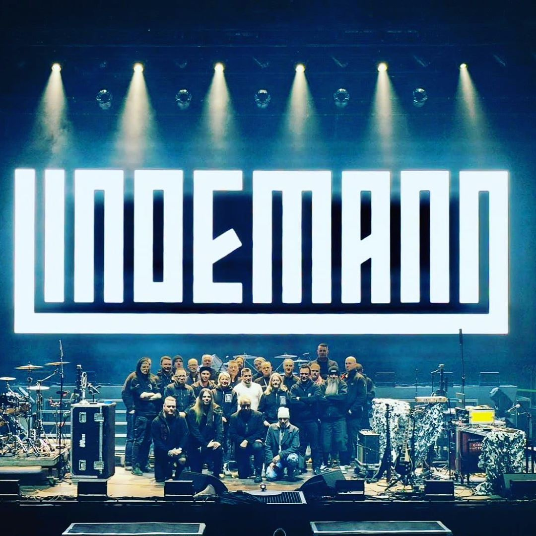 Europe is done  What a hell of tour and turn out..! Amazing!! We thank some of the crew that goes home   And we continue to Russian, Ukraine and Belarus...  Photo: Peter Tägtgren-Official - https://www.instagram.com/peter.tagtgren/    #lindemann #petertägtgren #lindemanntour2020 pic.twitter.com/doKmlBzKi6