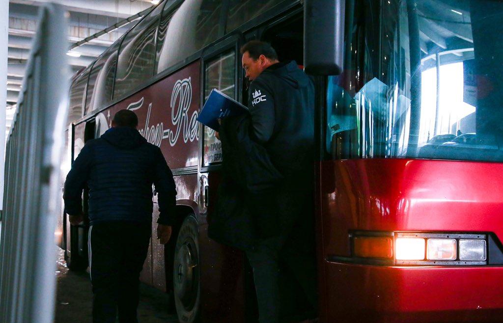 Автобус ФК Рубин, Луонид Слуцкий