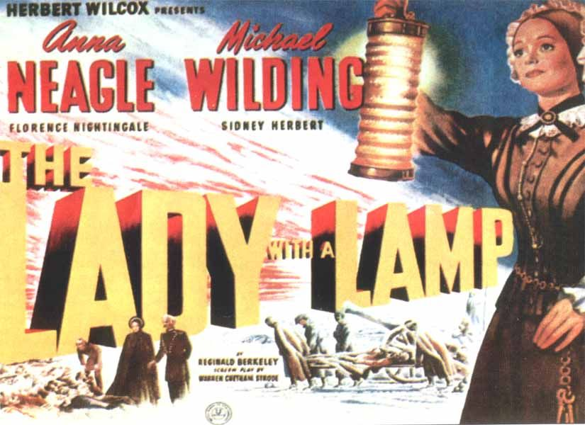 """Talking Pictures TV on Twitter: """"14:15 THE LADY WITH A LAMP (1951 ..."""
