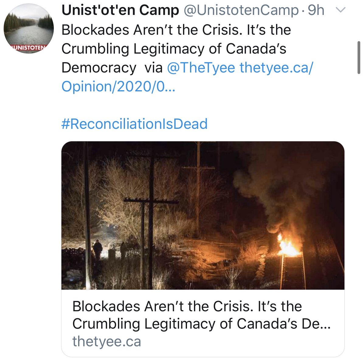 Image result for blockades canada fires