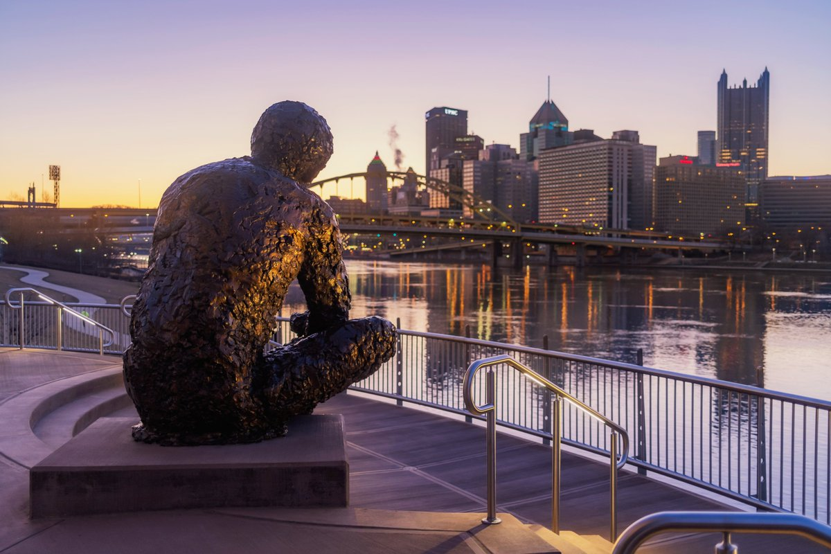 Dave Dicello On Twitter Took My Brand New Fuji X100v For A Spin This Morning Including A Stop At The Mr Rogers Statue On The North Shore Of Pittsburgh Though The Skies