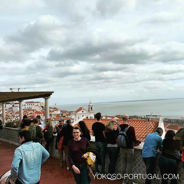 test ツイッターメディア - リスボン、サンタ・ルジア展望台。 #ポルトガル #リスボン https://t.co/hEC98rT2Zq