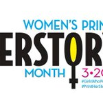Image for the Tweet beginning: Happy Women's #PrintHerStoryMonth all you