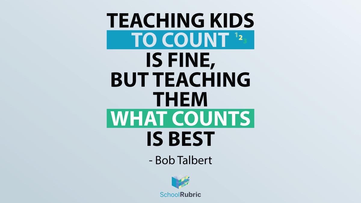 Teach kids what counts! #teach #learn #teaching #education