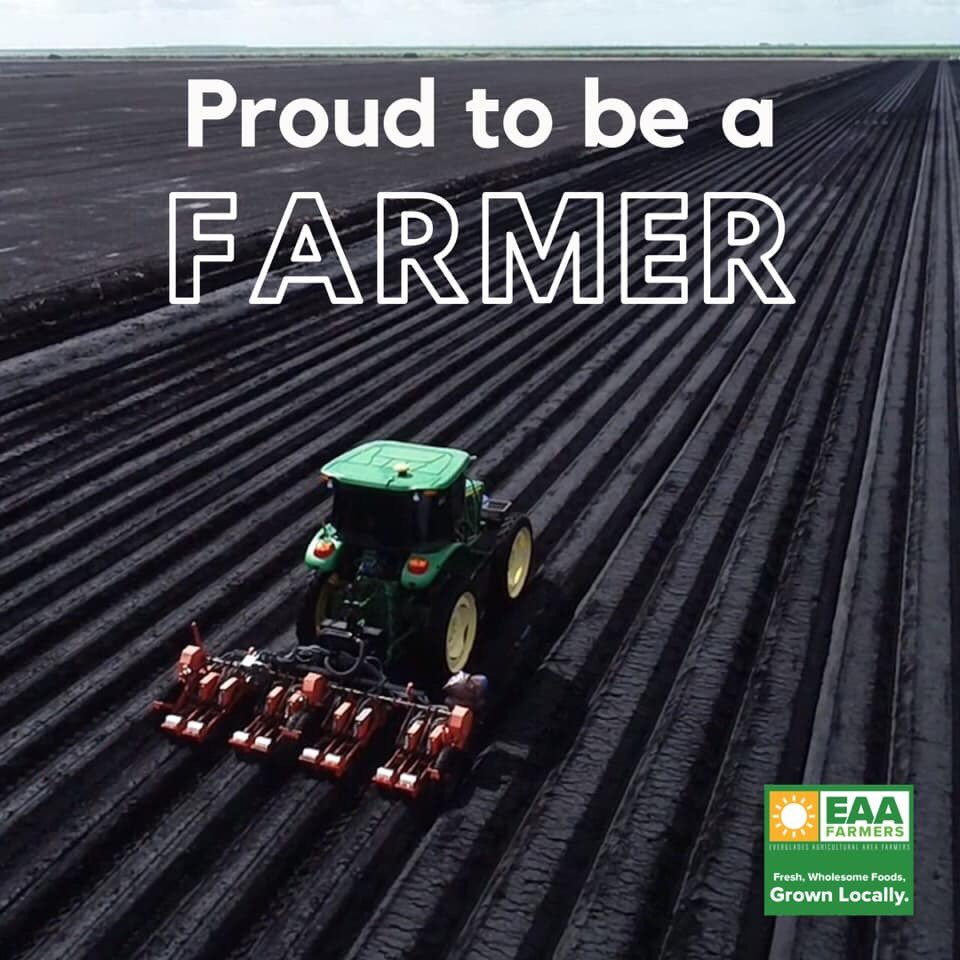 I am proud to be a farmer. #eaafarmers #farming #florida