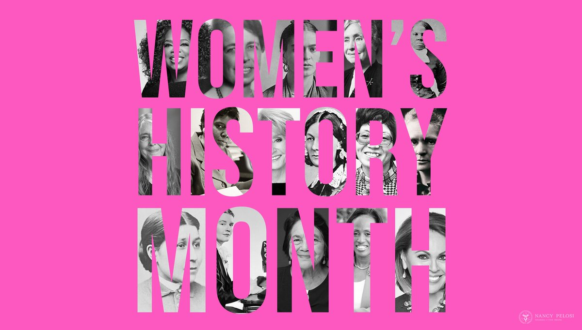 #WomensHistoryMonth reminds us that when women succeed, America succeeds. speaker.gov/newsroom/3120