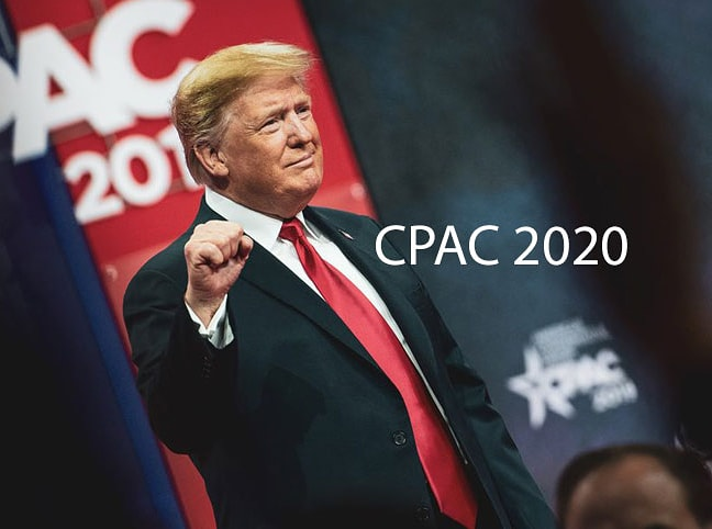 """#CPAC2020 was incredible! So many great speakers. Make sure to listen to Trump's speech when you get a chance.   """"God bless you. God bless America. We will see you next year!""""  https://www.breitbart.com/2020-election/2020/02/29/donald-trump-delights-cpac-crowd-with-election-year-performance-see-you-next-year/… #GodBless #AMEN#donaldjtrump #trumptrain#conservativepolitics #WWG1WGApic.twitter.com/FDz28iXHzo"""