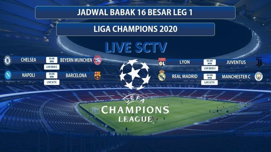 Jadwal Liga Champions 16 Besar 2020 : Cq6vkzmr4kzl4m : Leg ...