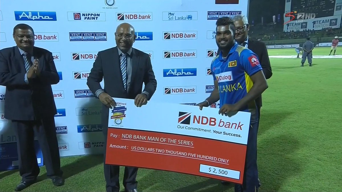 Man of the Series: Wanindu Hasaranga