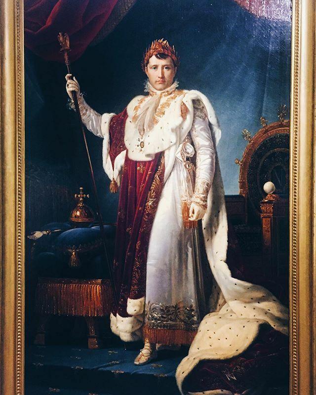 Emperor Napoleon I in Coronation Robes, 1805 by Francois Gerard  @ParisJeTaime #Parisjetaime #Paris @MuseeLouvre #Louvre #NocturneDuSamedi #30ansPyramide #MuseeDelacroix #AuditoriumLouvre #Tuileries #LouvreEditions #PresseLouvre #museedulouvre #FrancoisG…